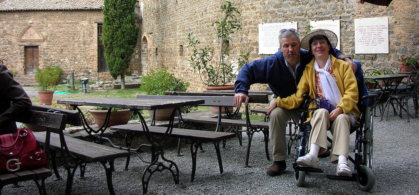 Tuscany wheelchair users and disabled accessible Italian tours