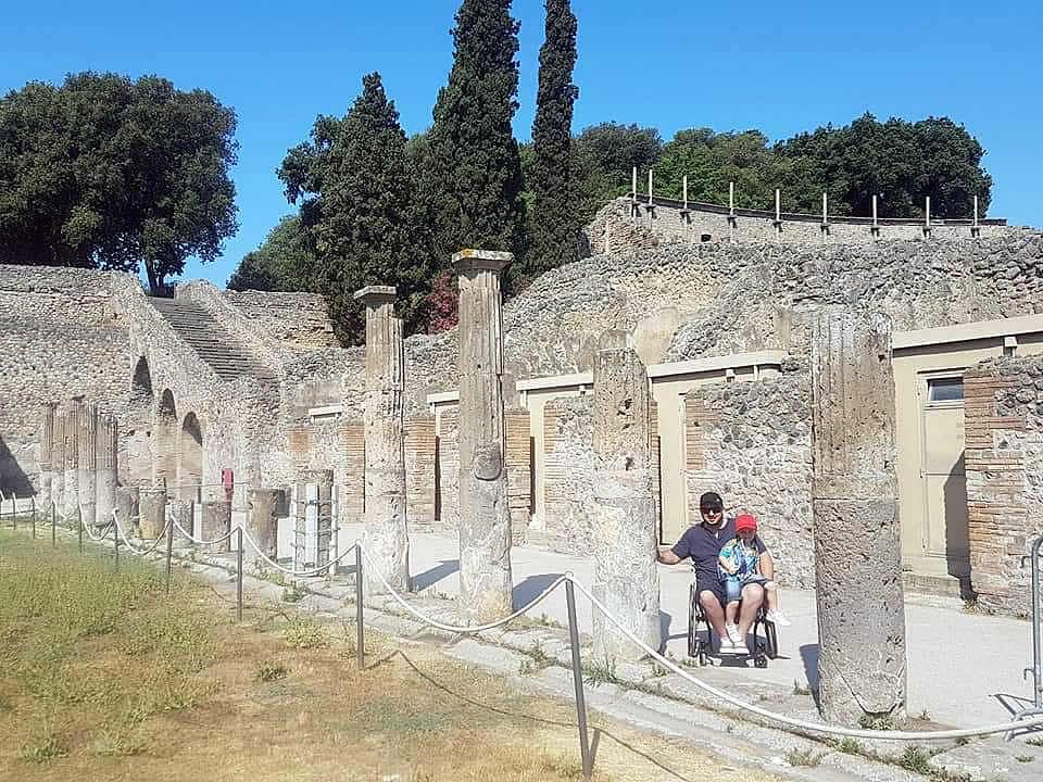 Naples disabled accessible Pompeii Amalfi Mount Vesuvius Capri tours