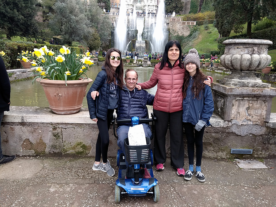 Sorrento and Rome wheelchair accessible tours