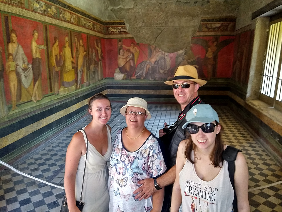 Pompeii day trip excursion customers testimonial
