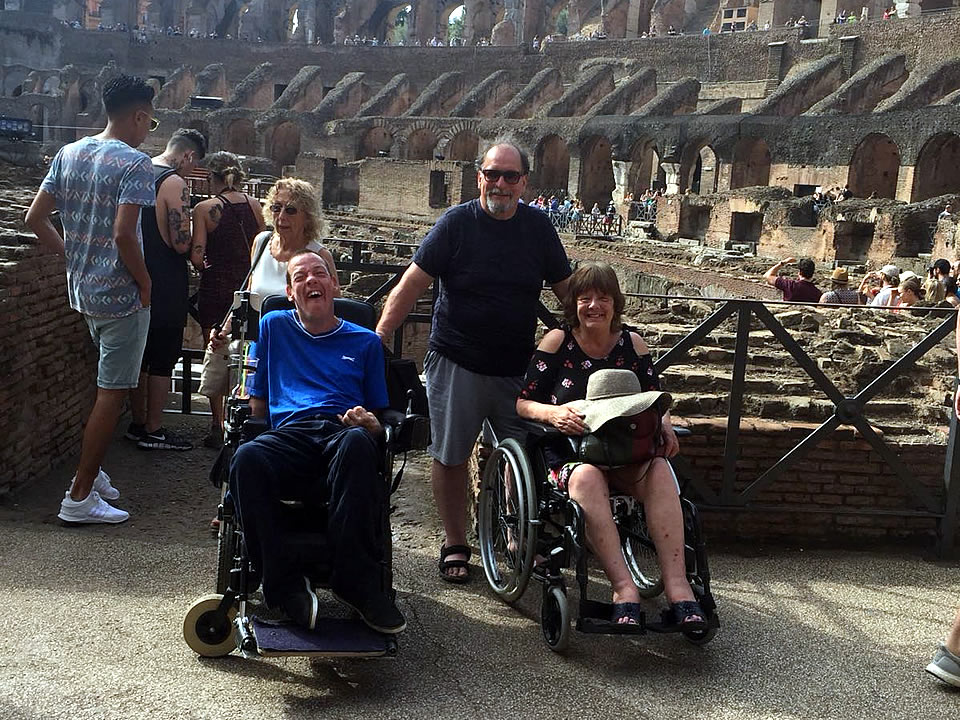 Rome accessible tours to Colosseum