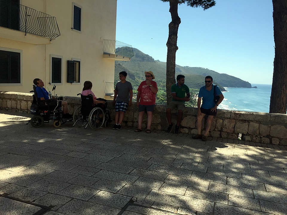 Ulysses accessible tours to Sperlonga