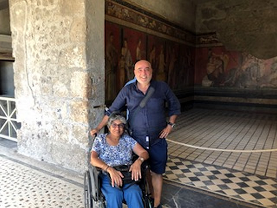 Rome and Umbria wheelchair accessible holidays