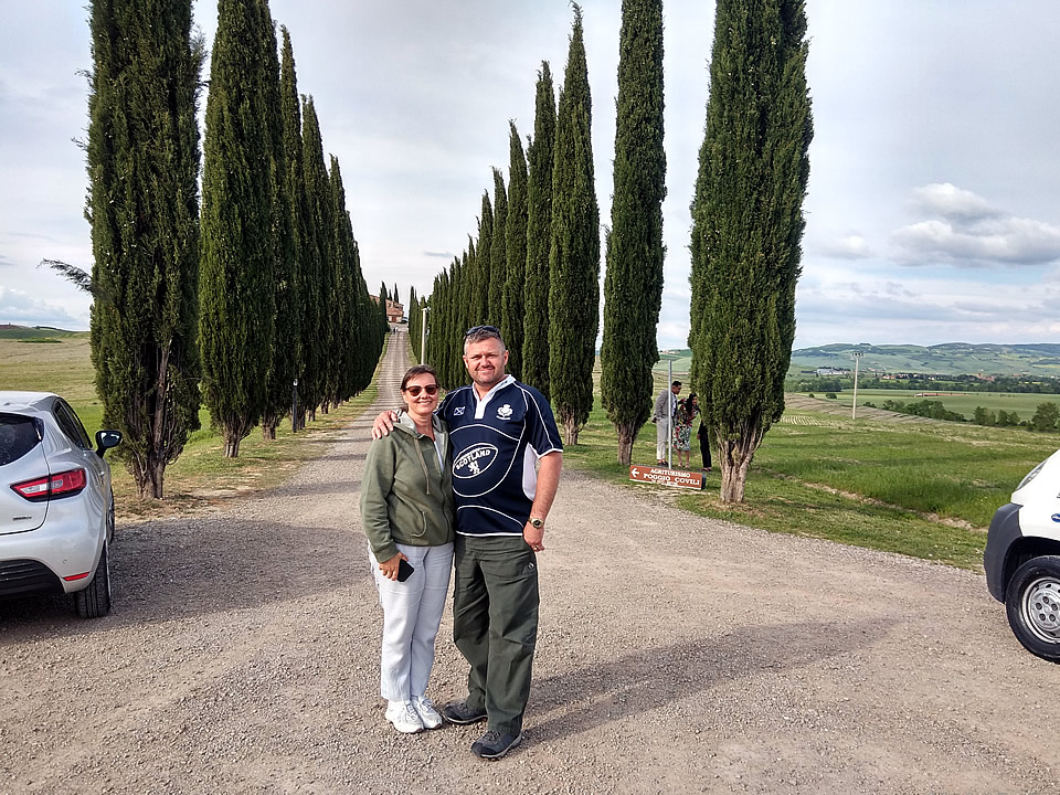 Tuscany Val D'Orcia wheelchair accessible