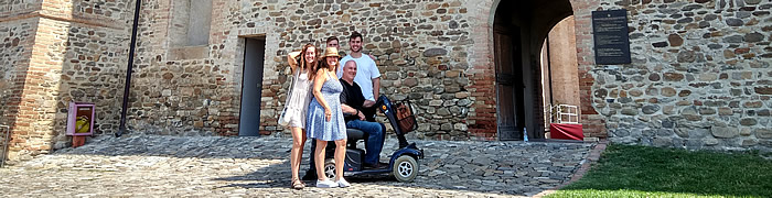 castles road wheelchair accessible tours