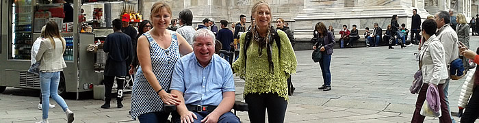 milan wheelchair accessible tours