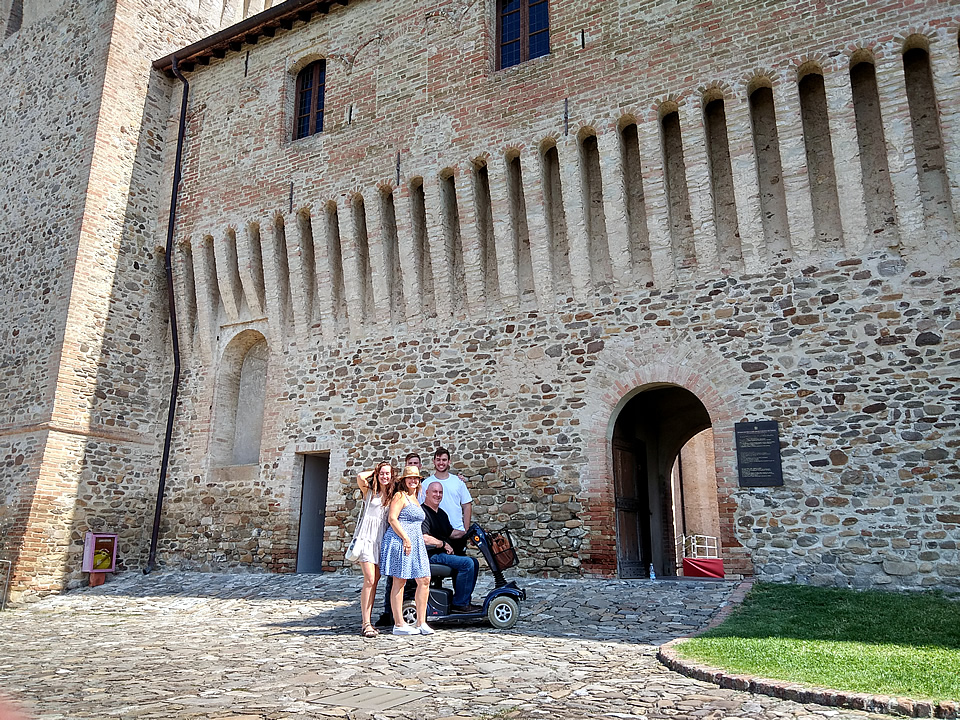 Castle Road Bologna Accessible Tours