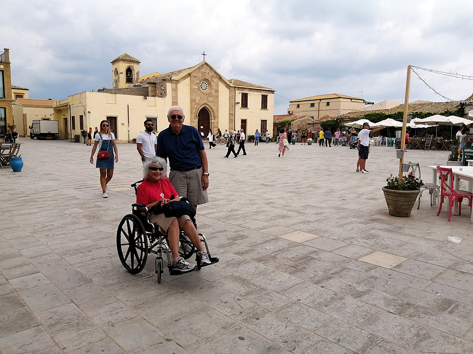 Sicily wheelchair accessible holidays testimonial feedback