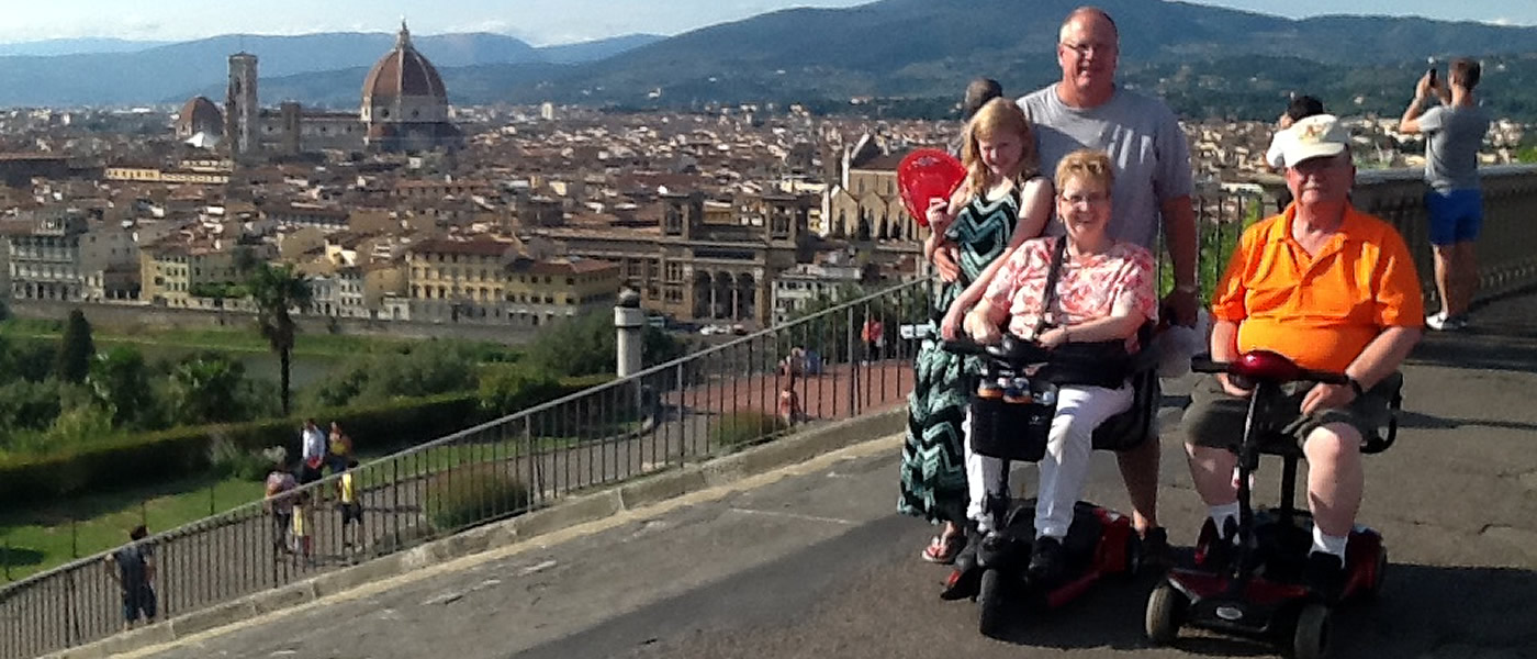 Florence Wheelchair Tuscany Accessible Tours