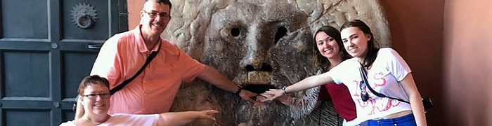 Mouth of Truth Wheelchair Rome Accessible Tours