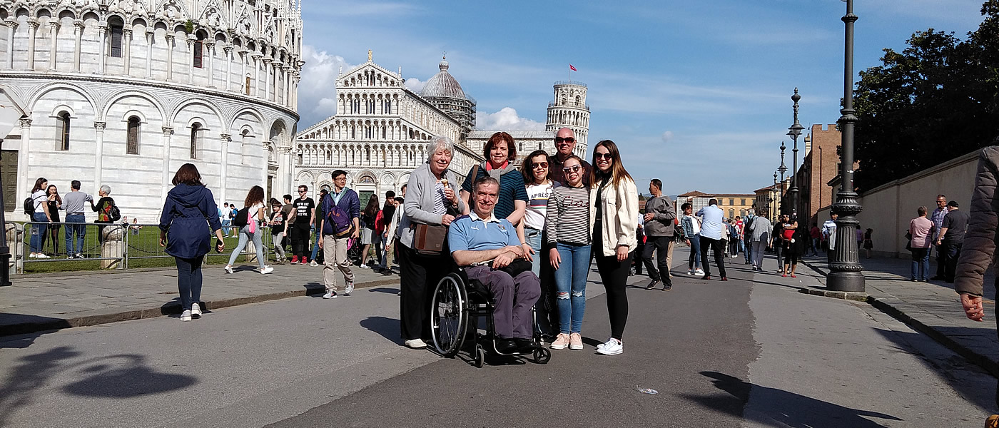 Pisa Wheelchair Tuscany Accessible Tours