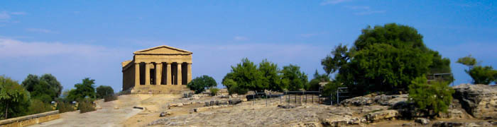 Valley of the Temples Wheelchair Sicily Accessible Tours