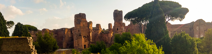 Baths of Caracalla Wheelchair Rome Accessible Tours