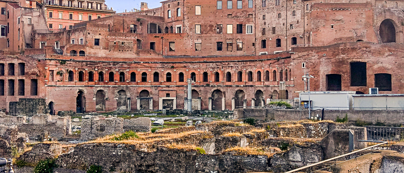 Trajan's Market Wheelchair Accessible Tours