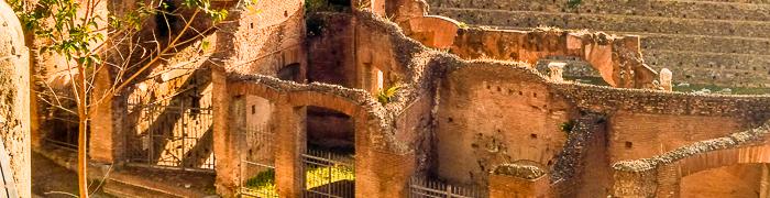 Trajan's Market Wheelchair Rome Accessible Tours