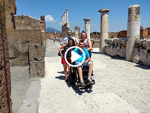 Pompeii Wheelchair Accessible Tours Video