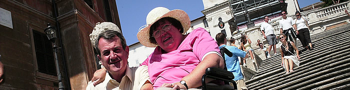 Spanish Steps Wheelchair Rome Accessible Tours