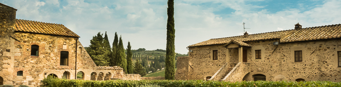 Sant'Antimo Abbey Wheelchair Val D'Orcia Accessible Tours