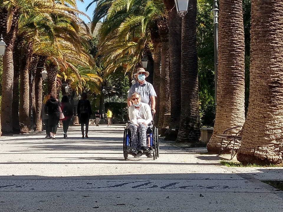 Sicily Wheelchair aaccessible tours client testimonial