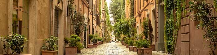 Via Margutta Wheelchair Rome Accessible Tours
