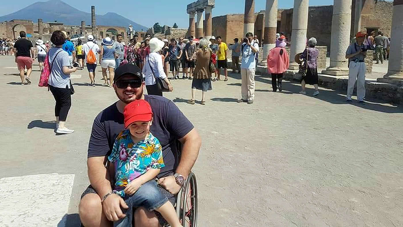 Pompeii wheelchair accessible tours