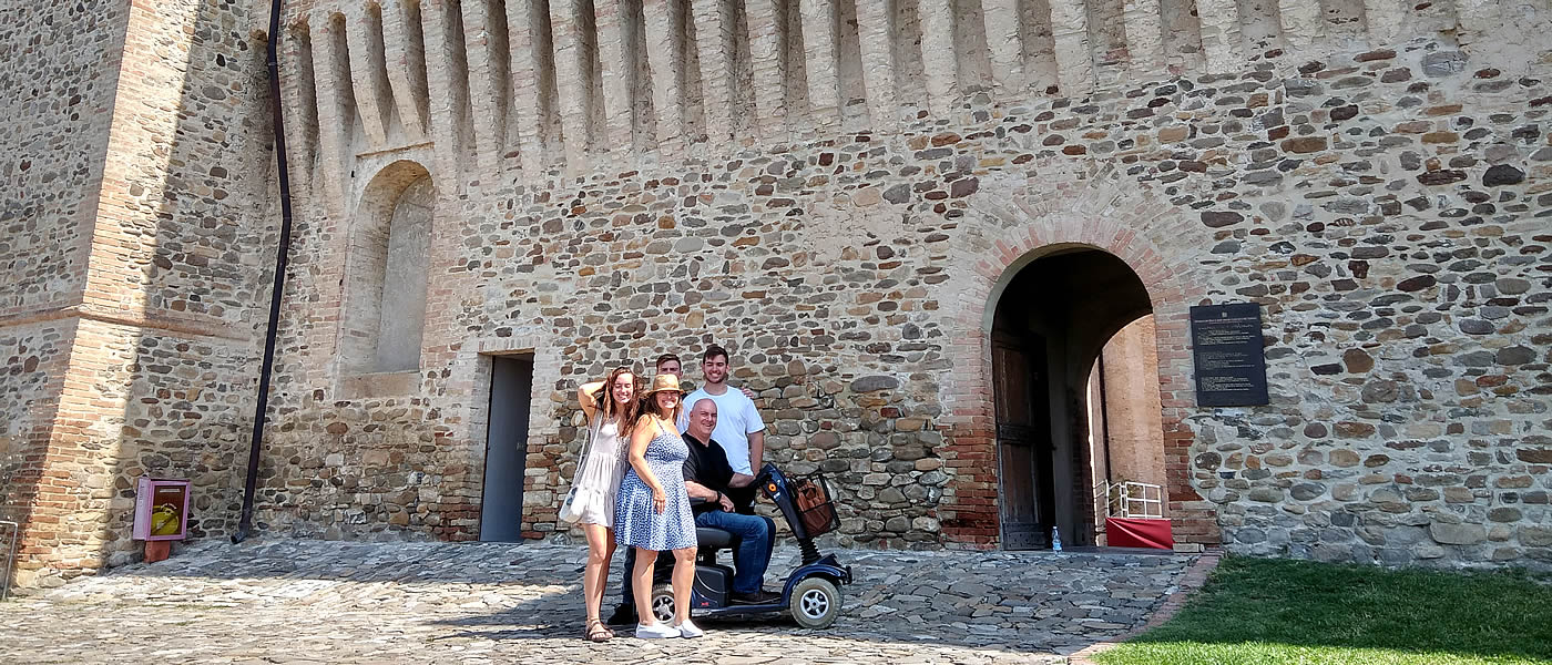 italy wheelchair accessible holidays